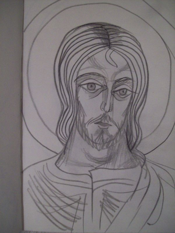12 - Jesus Christ by Gallina Todorova
