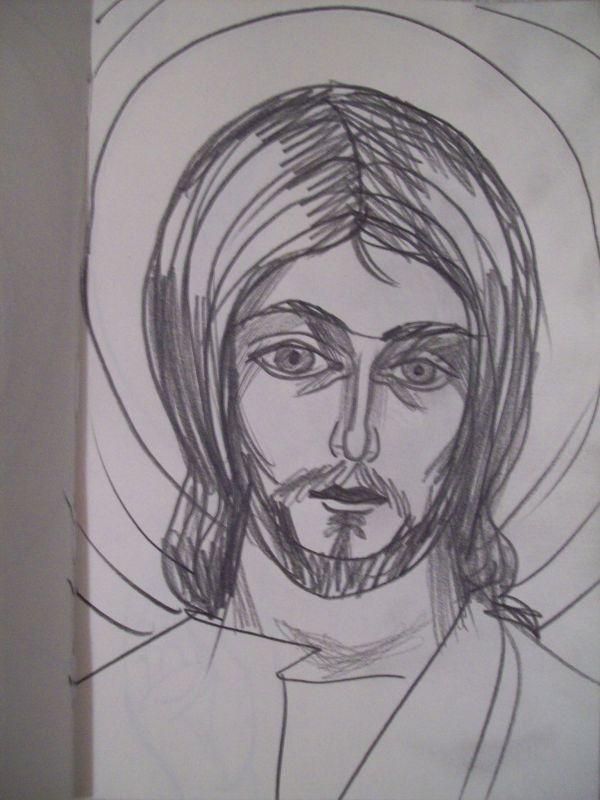 15 - Jesus Christ by Gallina Todorova