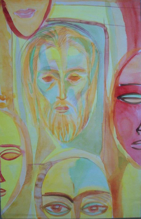 For the exhibition Faces  - 26-5 by Gallina Todorova