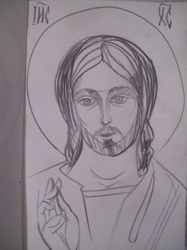 16 - Jesus Christ by Gallina Todorova
