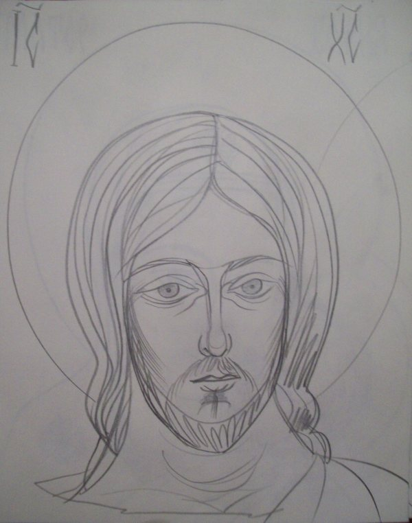 17 - Jesus Christ by Gallina Todorova