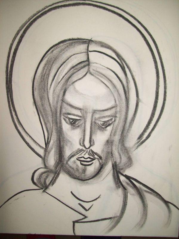 19 - Jesus Christ by Gallina Todorova