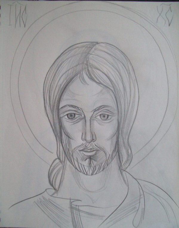 20 - Jesus Christ by Gallina Todorova