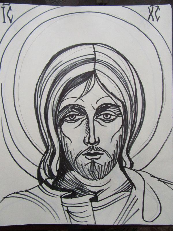 21 - Jesus Christ by Gallina Todorova