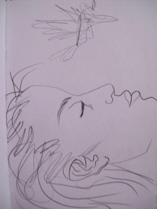 Falling asleep by Gallina Todorova