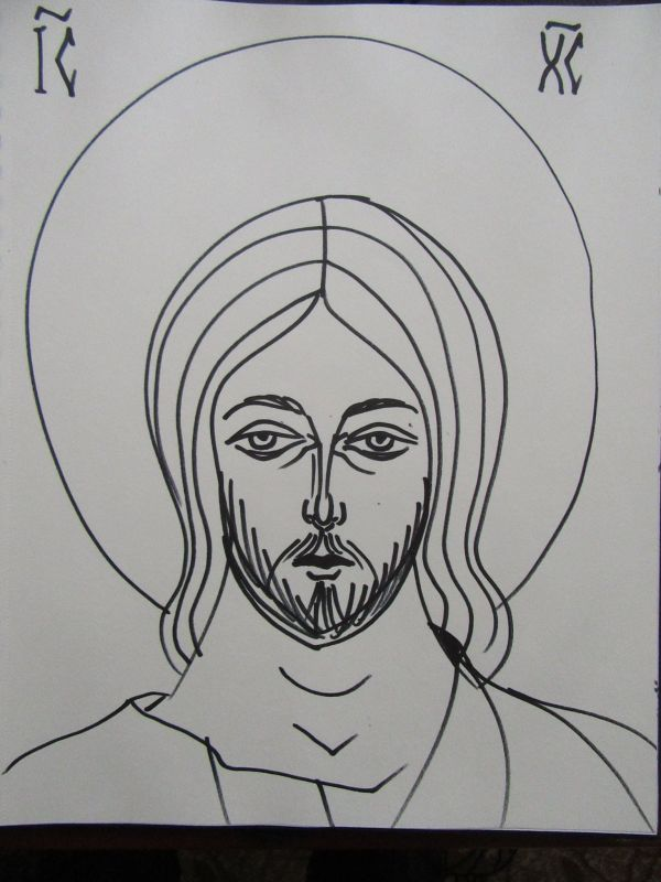 22 - Jesus Christ by Gallina Todorova