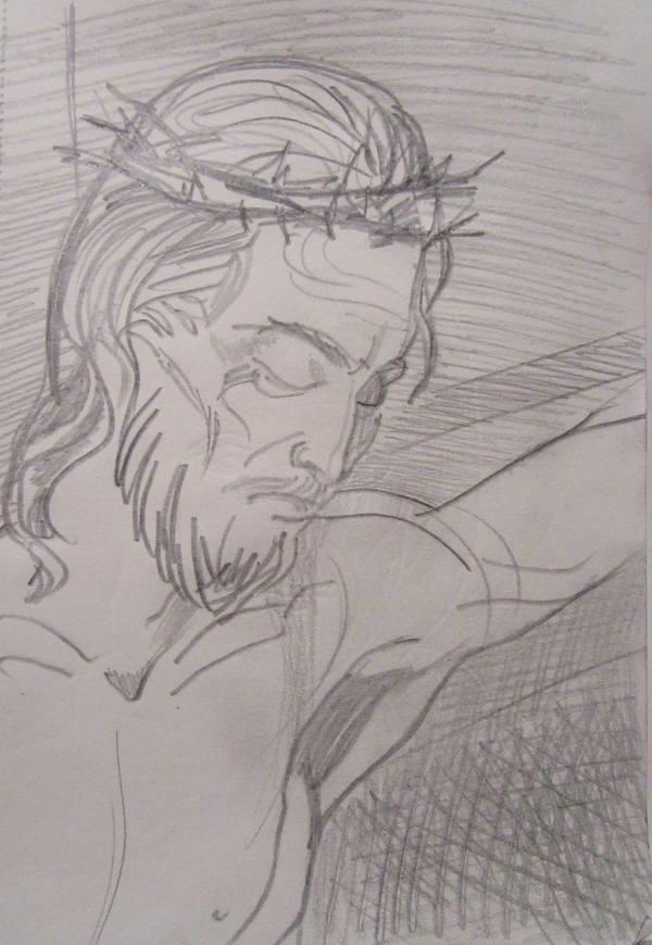 25 - Jesus Christ by Gallina Todorova