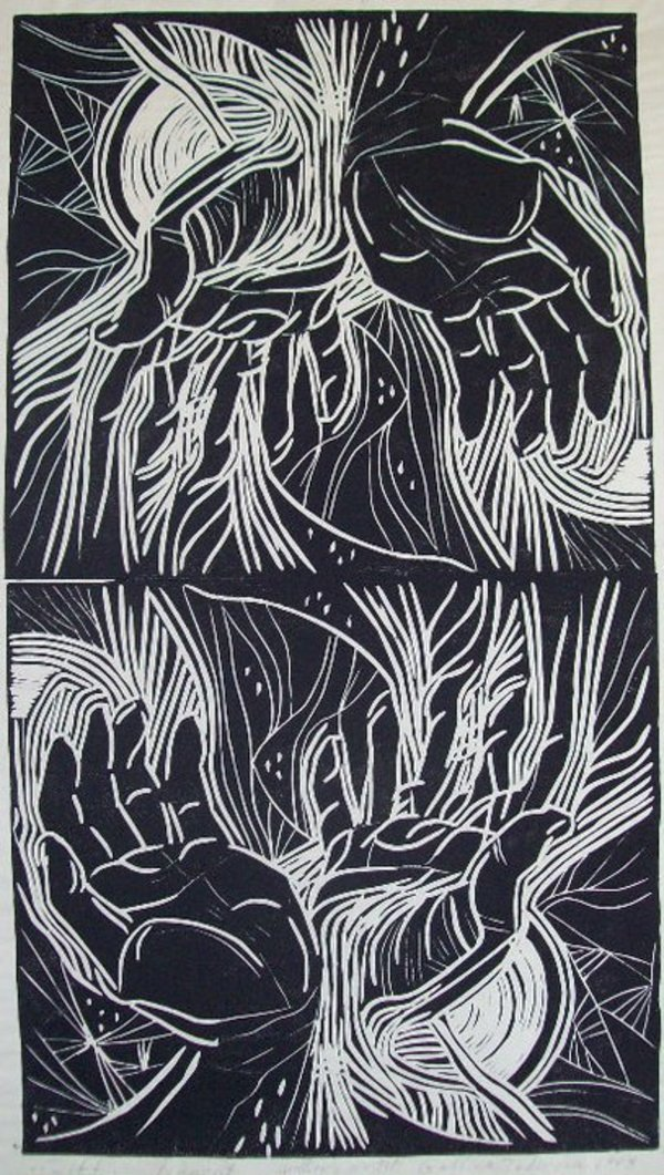 Hands by Gallina Todorova