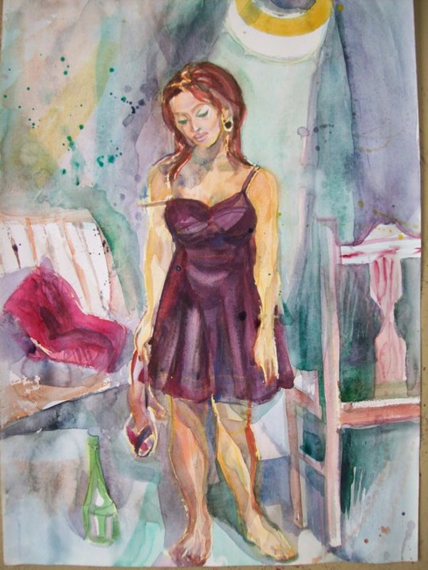 After the party 2 by Gallina Todorova