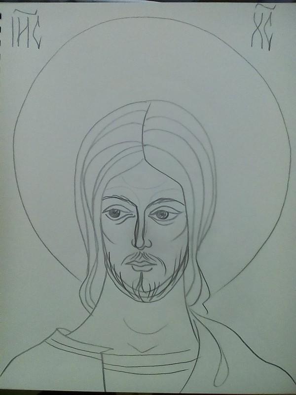 1- Jesus Christ by Gallina Todorova