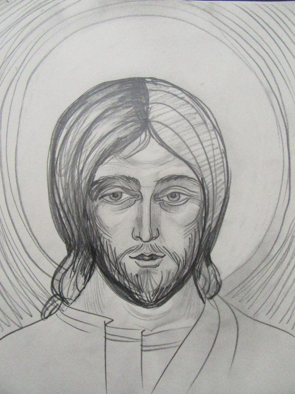 3 - Jesus Christ by Gallina Todorova