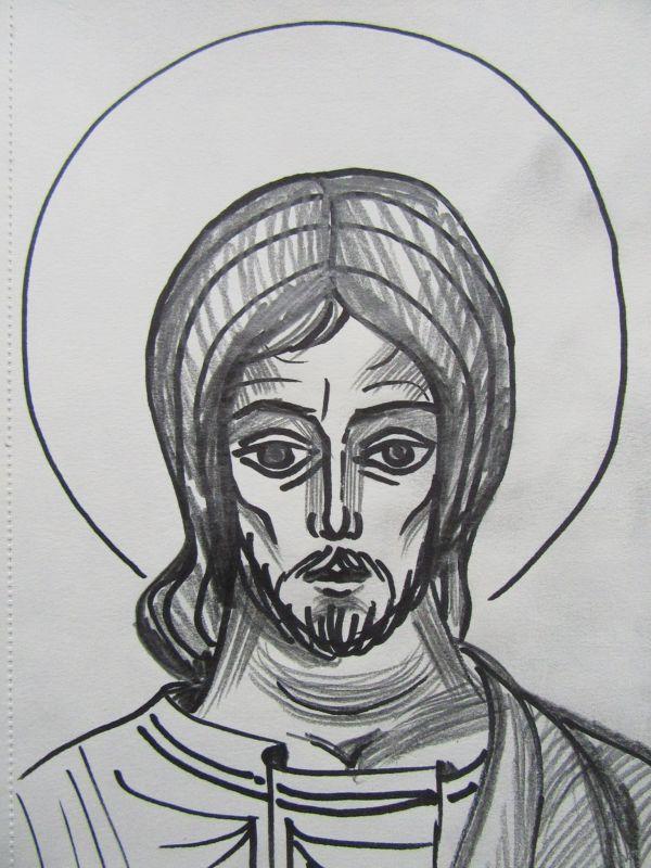 7 - Jesus Christ by Gallina Todorova