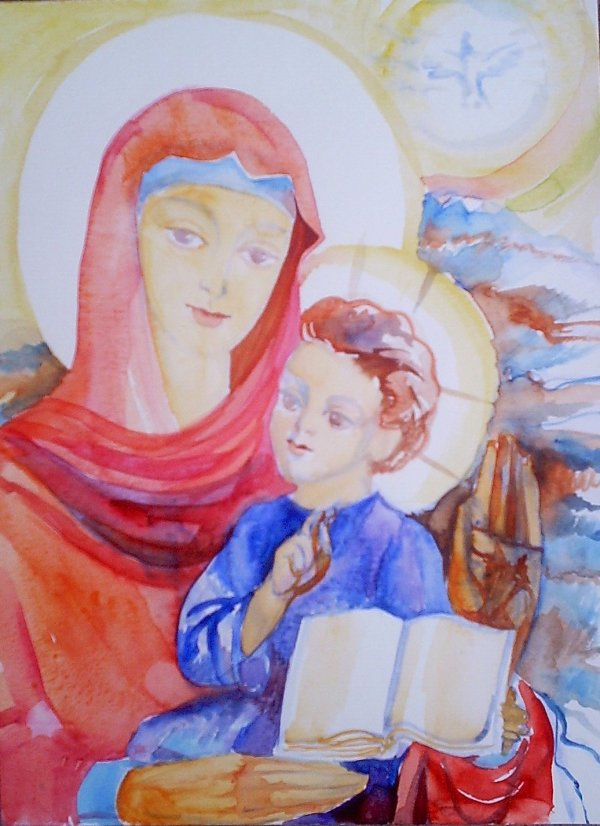 Holy Mother of God  by Gallina Todorova