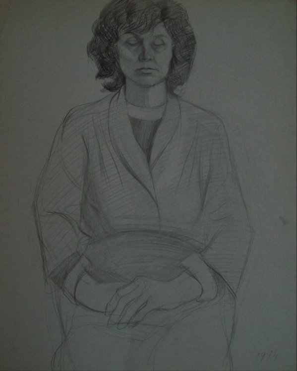 My Mother by Gallina Todorova