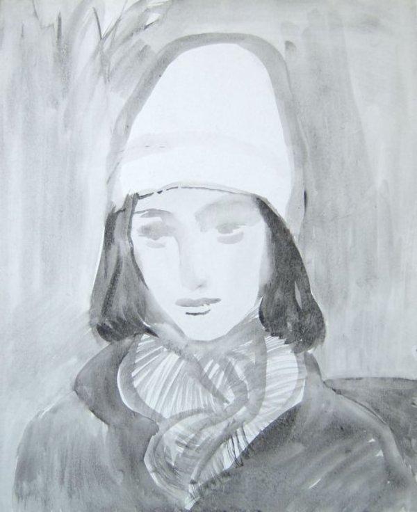 Rainy Portrait by Gallina Todorova