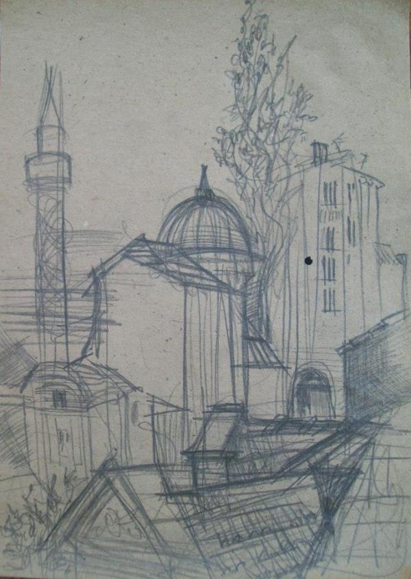 Plovdiv by Gallina Todorova