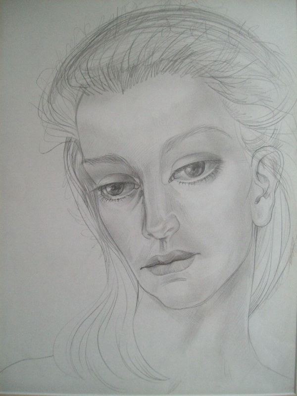 Woman's Face by Gallina Todorova