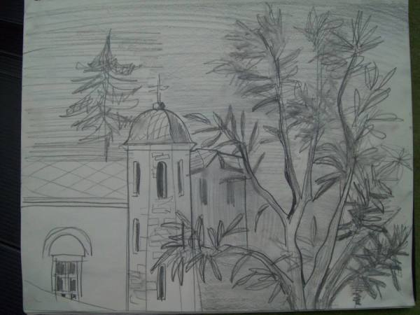 Lilkovo Church by Gallina Todorova
