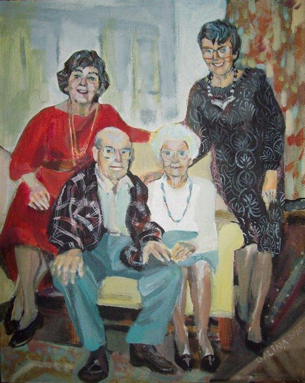 Family by Gallina Todorova