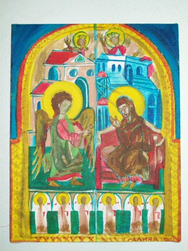 Annunciation by Gallina Todorova