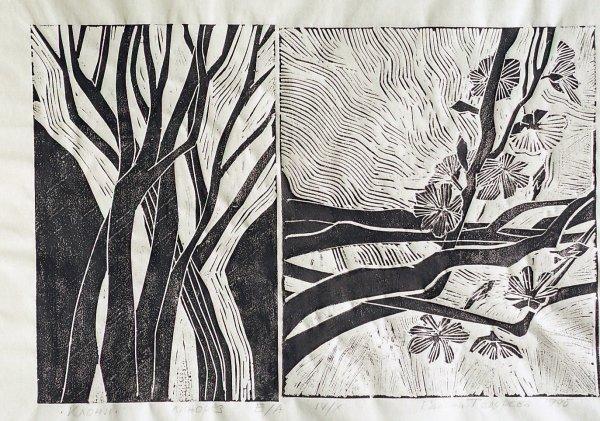 Tree Branches by Gallina Todorova