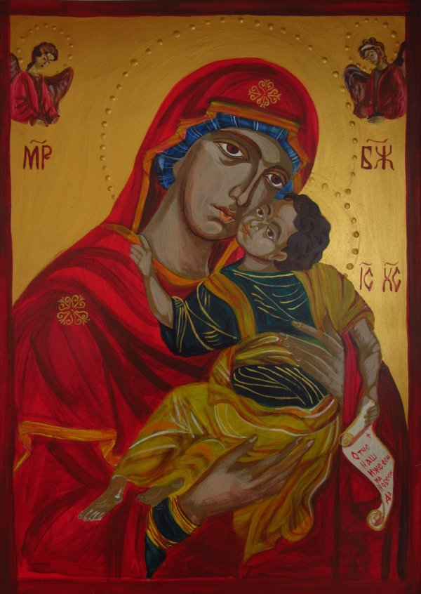 The Holy Mother of God by Gallina Todorova