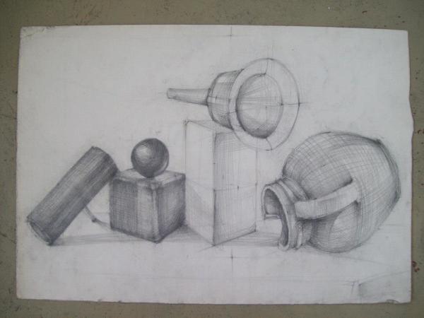 Still Life Study 1 by Gallina Todorova