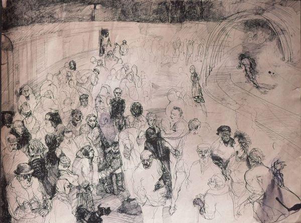 The Last Judgement by Gallina Todorova