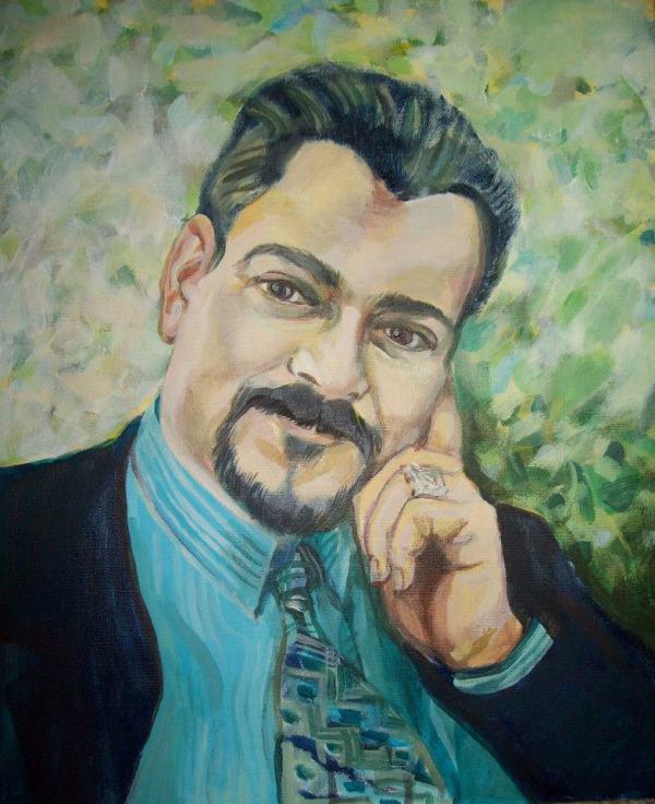 Portrait of a man by Gallina Todorova