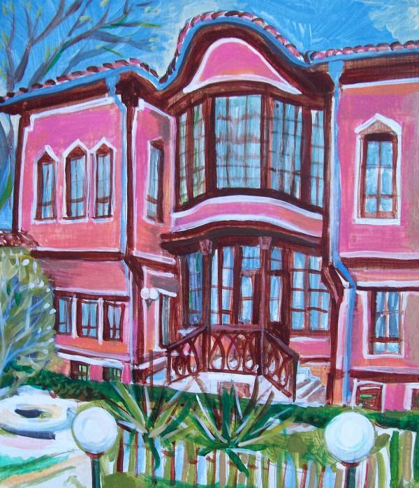 Georgiadi House in the Old Plovdiv by Gallina Todorova
