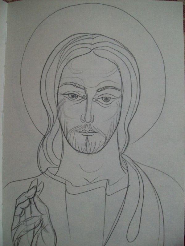 57 - Jesus Christ by Gallina Todorova