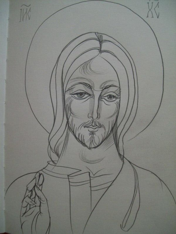27 - Jesus Christ by Gallina Todorova