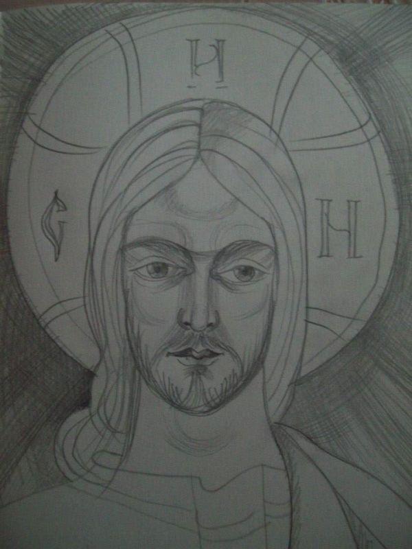 28 - Jesus Christ by Gallina Todorova