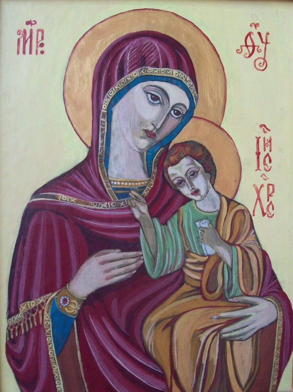 Holy Mother of God - 1997 by Gallina Todorova