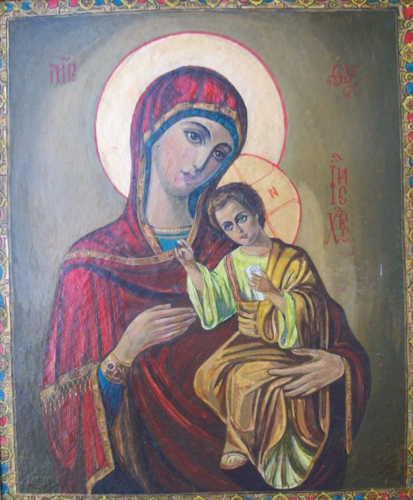 Holy Mother of God - 1994 by Gallina Todorova