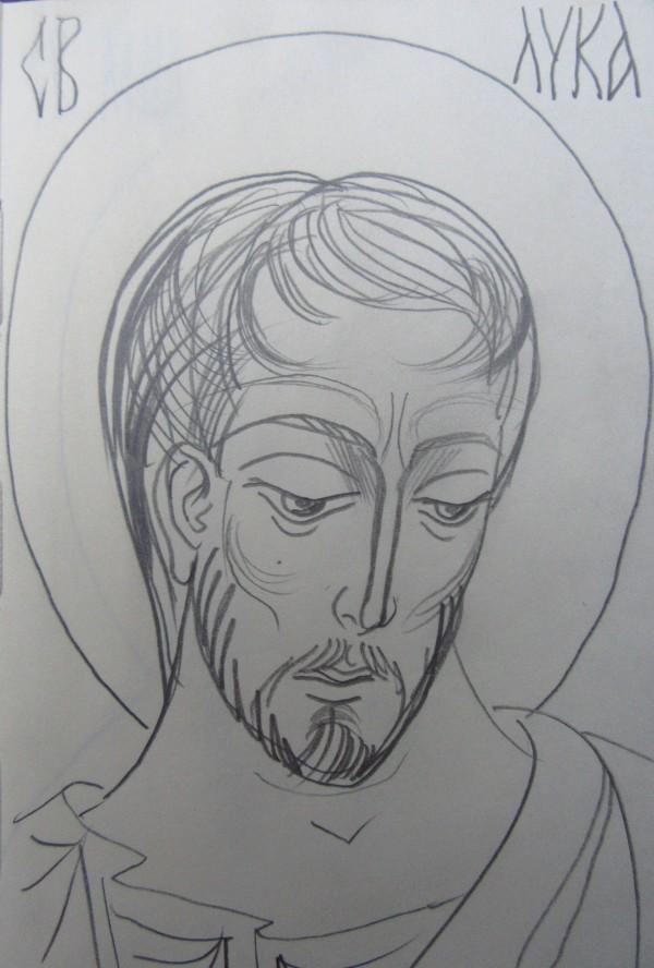 St Luke by Gallina Todorova