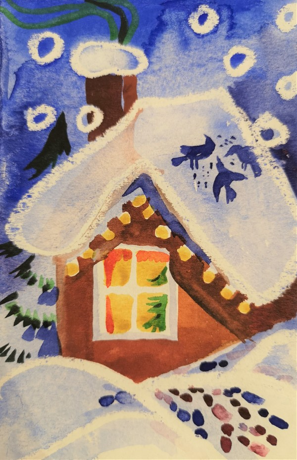 Christmas 2019/ illustration by Gallina Todorova