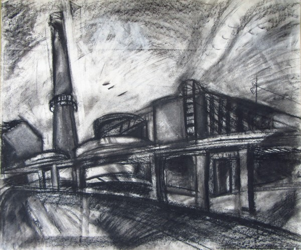 At the factory 2 by Gallina Todorova