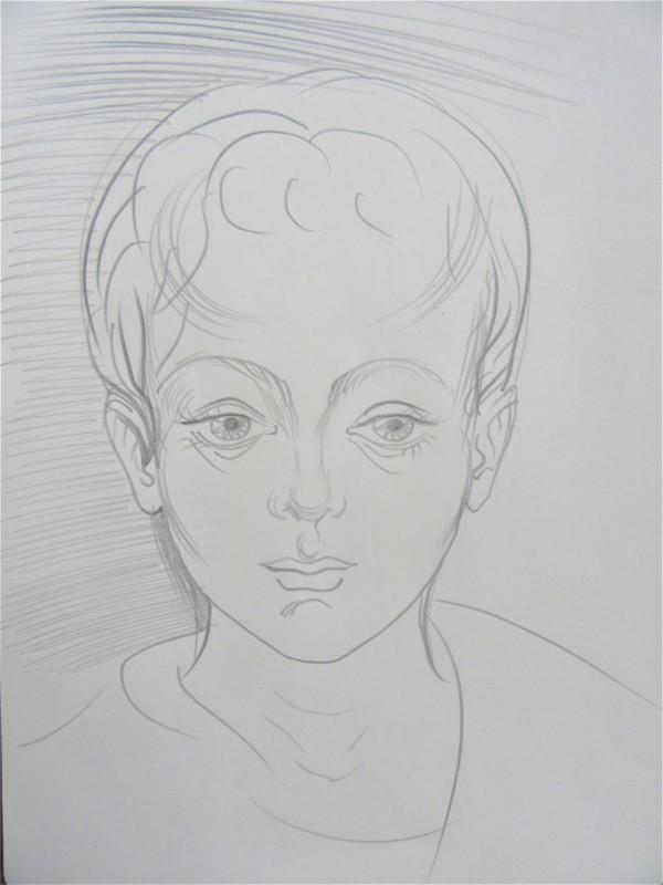 Child by Gallina Todorova