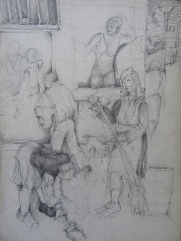 Figure Composition - Morning by Gallina Todorova