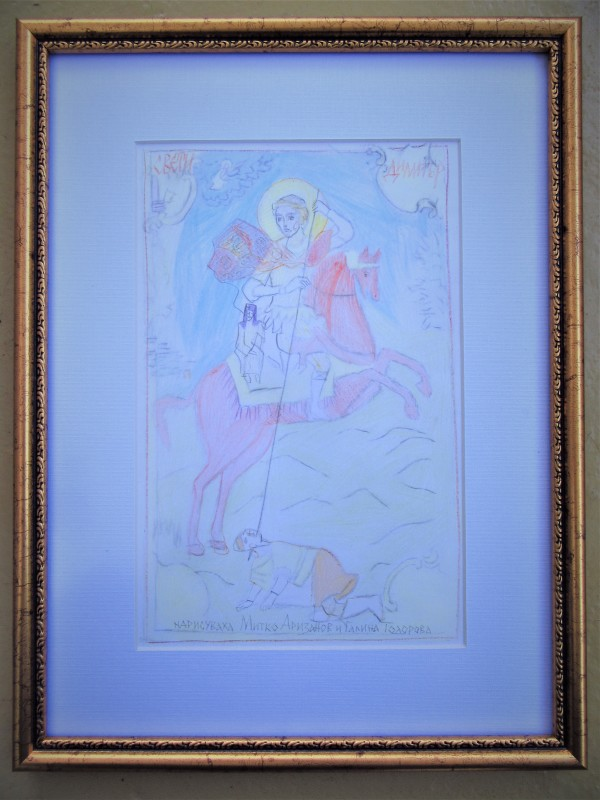 St Dimitriy of Tessaloniki 1 by Mitko Arizanov and Galina by Gallina Todorova