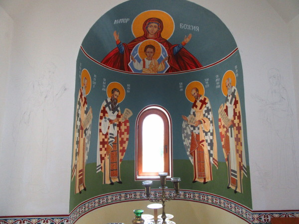 1 - at the Saint Paissiy Hillendarsky Temple by Gallina Todorova