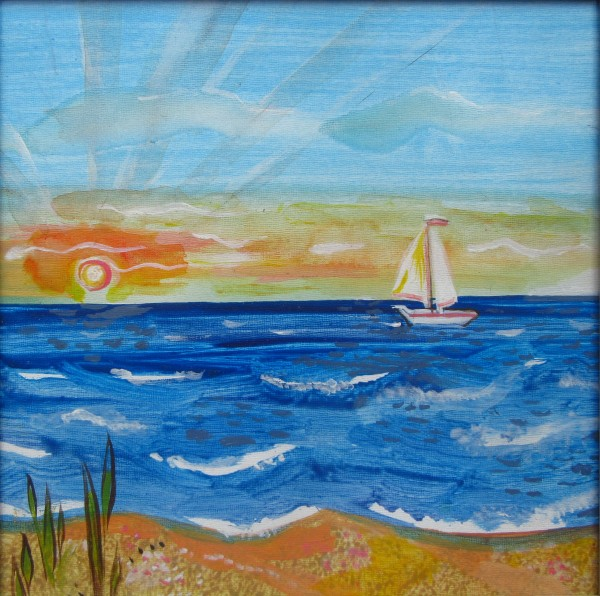 Sailboat by Gallina Todorova