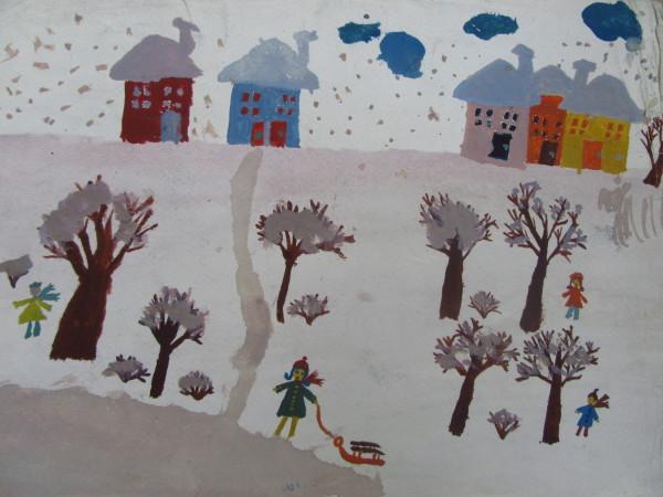 Winter Landscape by Gallina Todorova