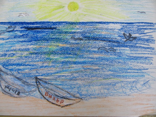 Seascape by Gallina Todorova