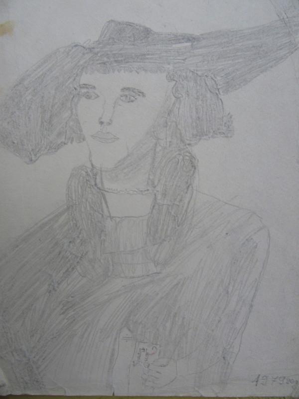 After Albrecht Durer by Gallina Todorova