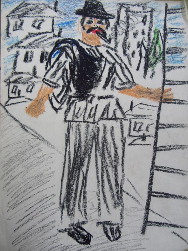 Chimney's cleaner by Gallina Todorova