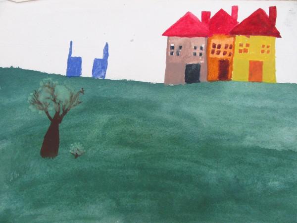 Summer landscape by Gallina Todorova