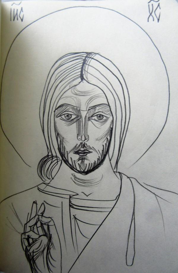 Jesus Christ Nov 2018 by Gallina Todorova