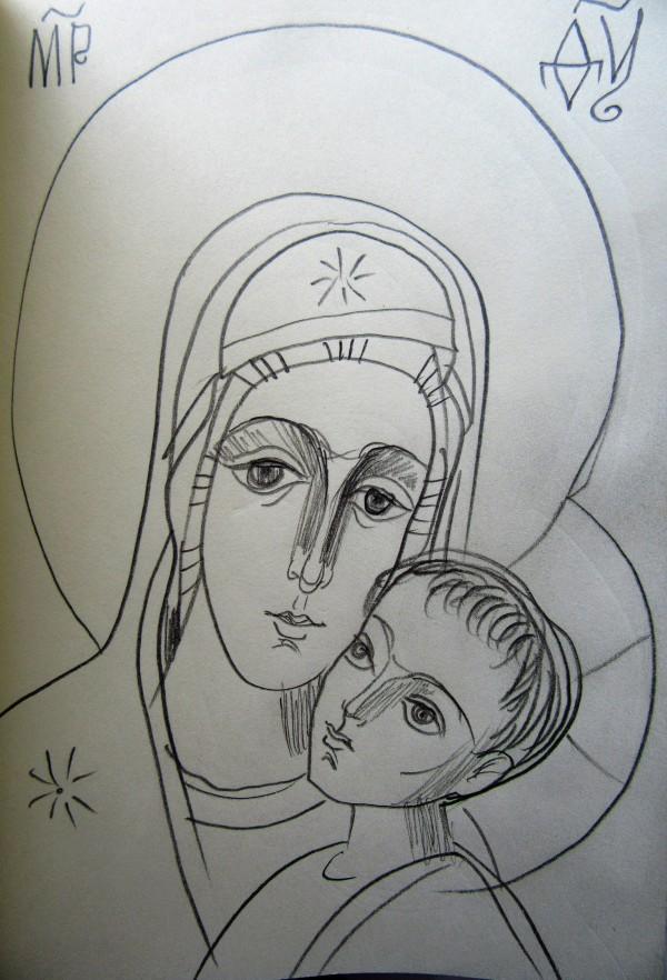 Holy GodMother by Gallina Todorova